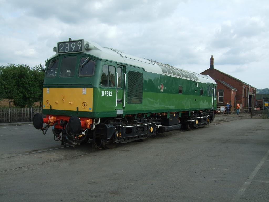 Class 25 D7612. Photo: Mike Pember.