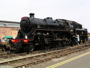76077 Steam Locomotive
