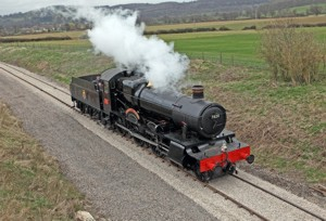 7820 Steam Locomotive