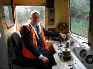 Taking the controls of a Class 73
